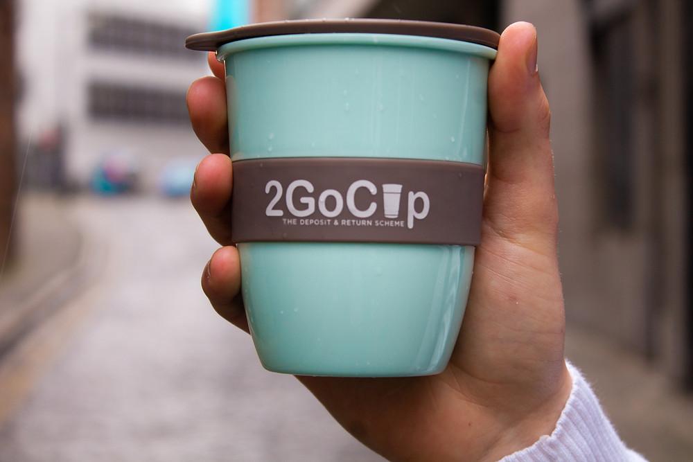 2GoCup - The Deposit & Return Scheme reusable cup