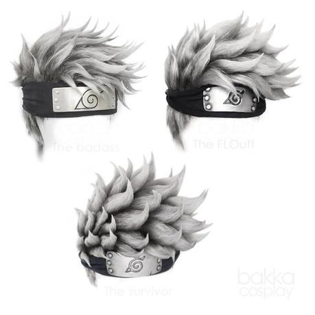 bakka Cosplay Kakashi Wig Evolution