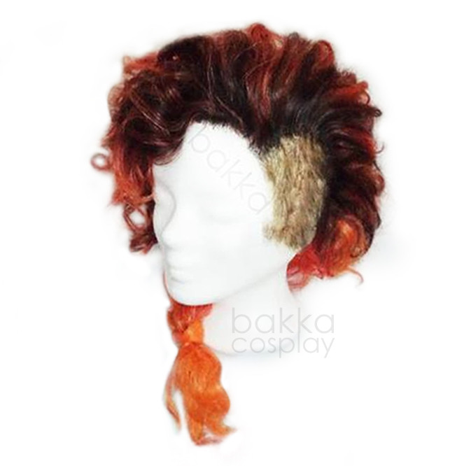bakkaCosplay_OCredSidecut_wigs_commissio