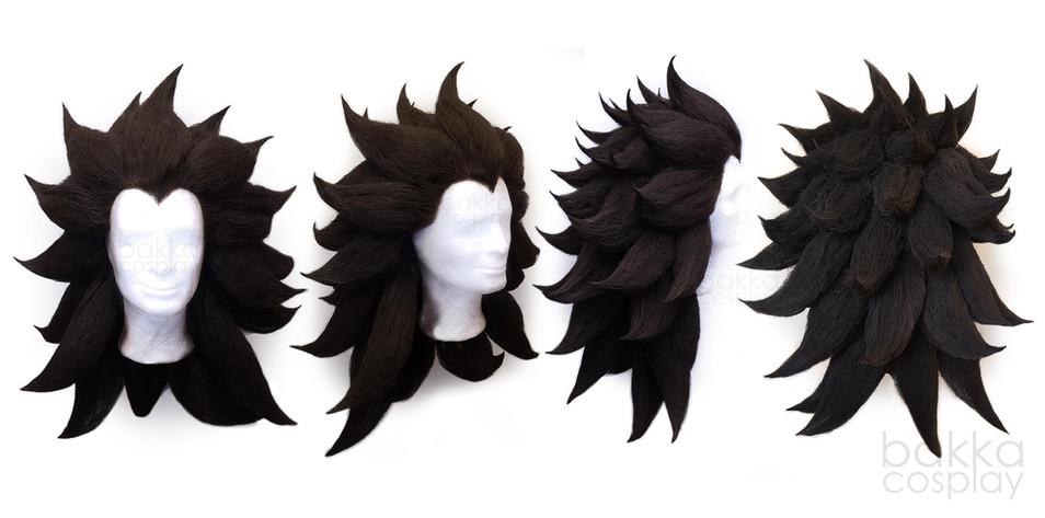 bakka Cosplay Gajeel wig