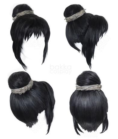bakka Cosplay Ranfan wig