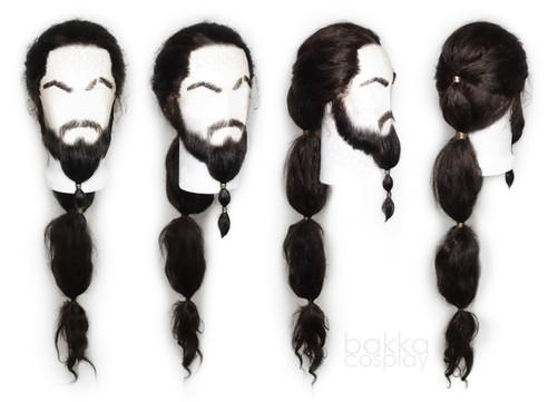 bakka Cosplay Khal Drogo wig & beard