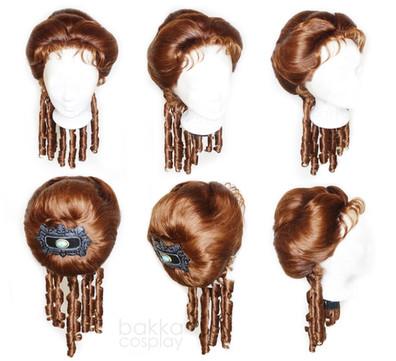 bakka Cosplay Red Dead Redemption wig