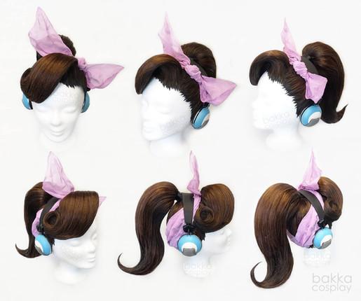 bakka Cosplay DVa wig
