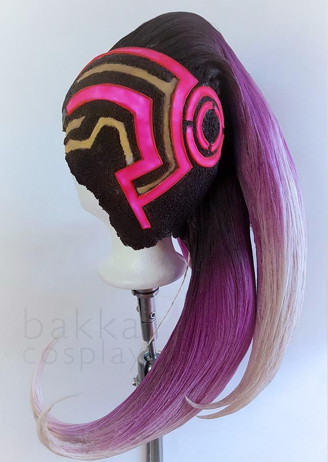 bakkaCosplay_SombraOverwatch_wigs_commis