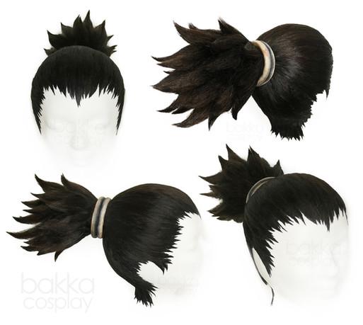 bakka Cosplay Iruka wig & bakka Up Do