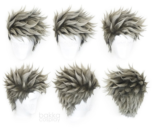 bakka Cosplay Kakashi wig realistic