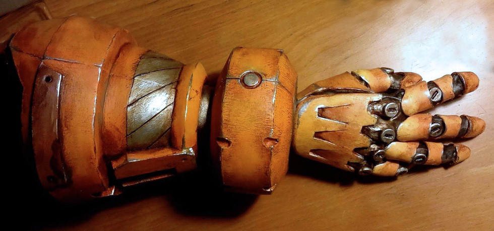 Junkrat Automail Arm hand received_10211