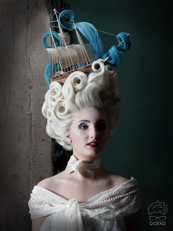bakkaCosplay Rococo wig Florence Heyer FX photo: die maske 2014