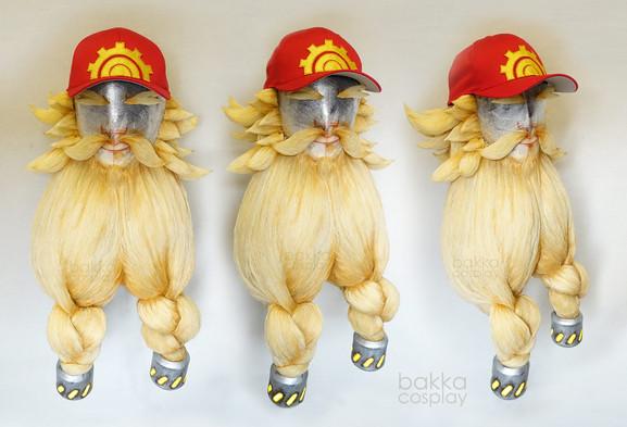 bakkaCosplay_Torbjörn_beards_wigs_commis
