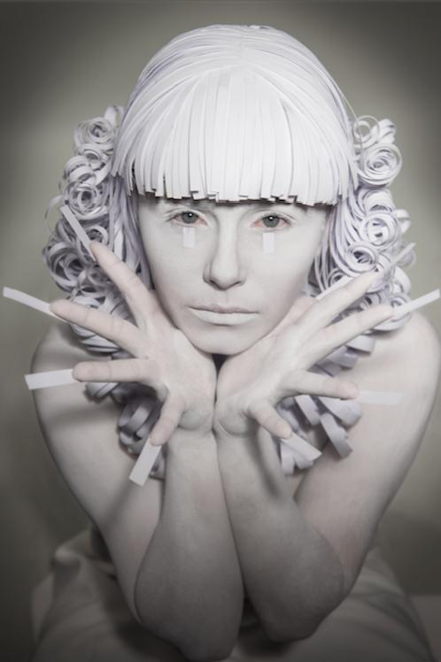 Print Paper Wig