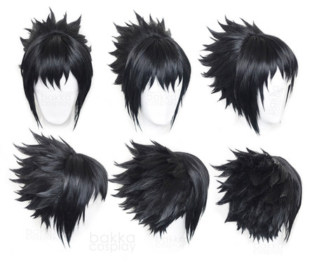 bakka Cosplay Sasuke wig