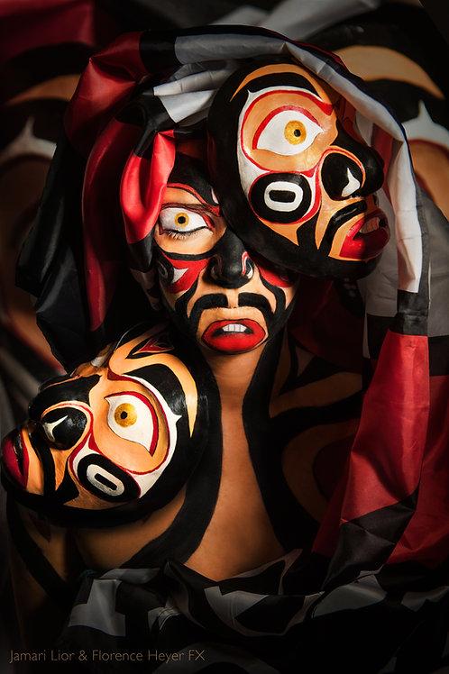 Print Bodypaint [masks]