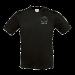 T-Shirt V-Neck Fair Wear - tiny bakka