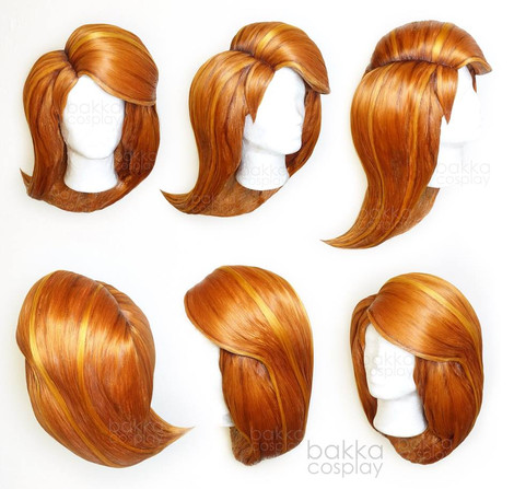 bakkaCosplay_KimPossible_wigs_commission