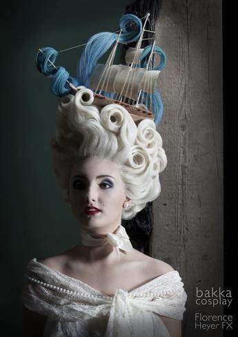 bakka Cosplay rococo full lace wig