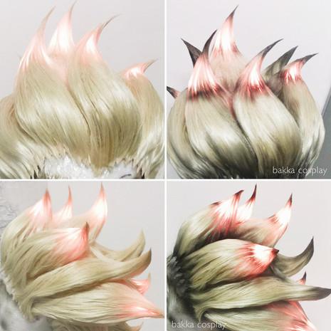 bakkaCosplay_Junkrat_workinprogress_wigs