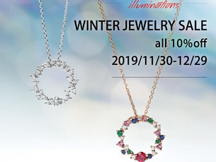 冬のジュエリーセール 『WINTER JEWELRY SALE』
