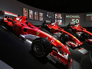 MUSEO FERRARI MARANELLO AN HOMAGE TO THE GREAT CHAMPION ON HIS 50TH BIRTHDAY
