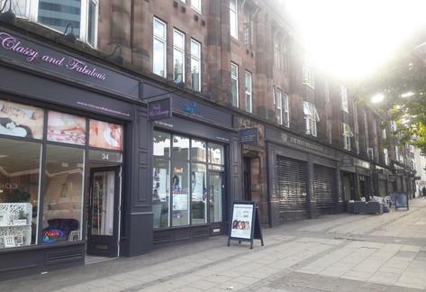 Islington Row Shopfront Refurbishment