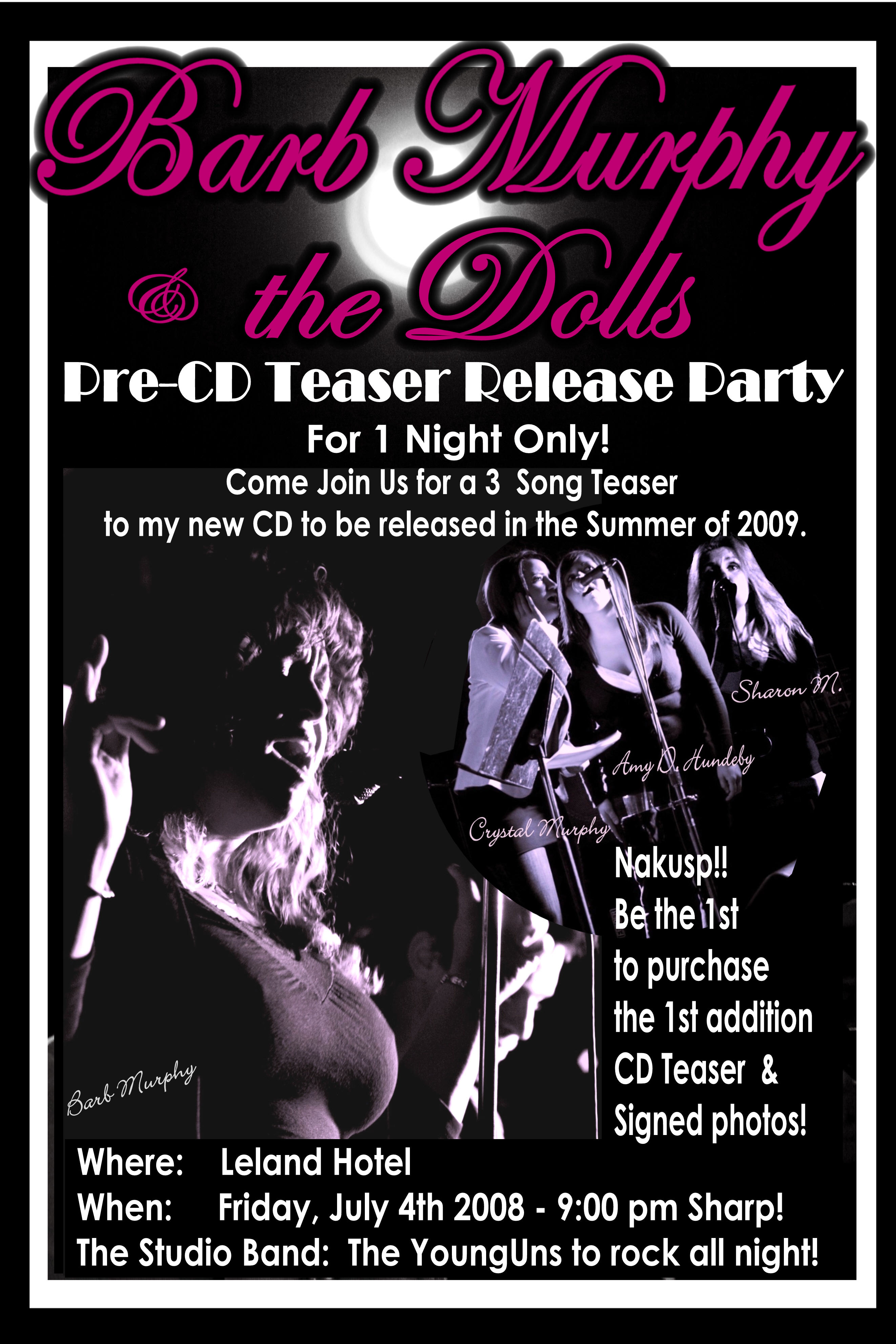 pre-cd release Poster 2