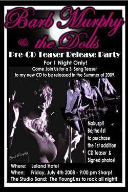 pre-cd release Poster 2
