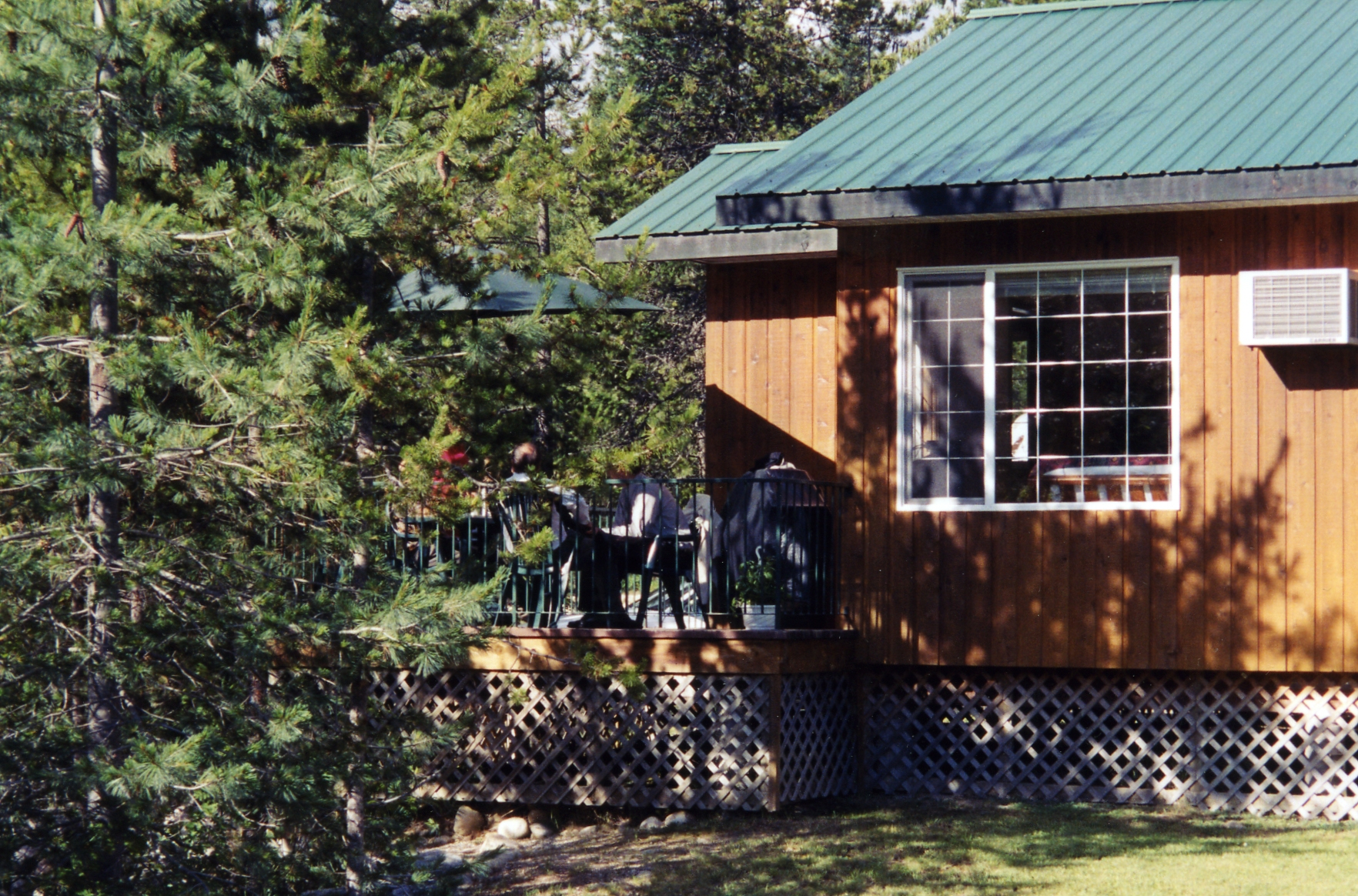 View of Cabin #1 deck