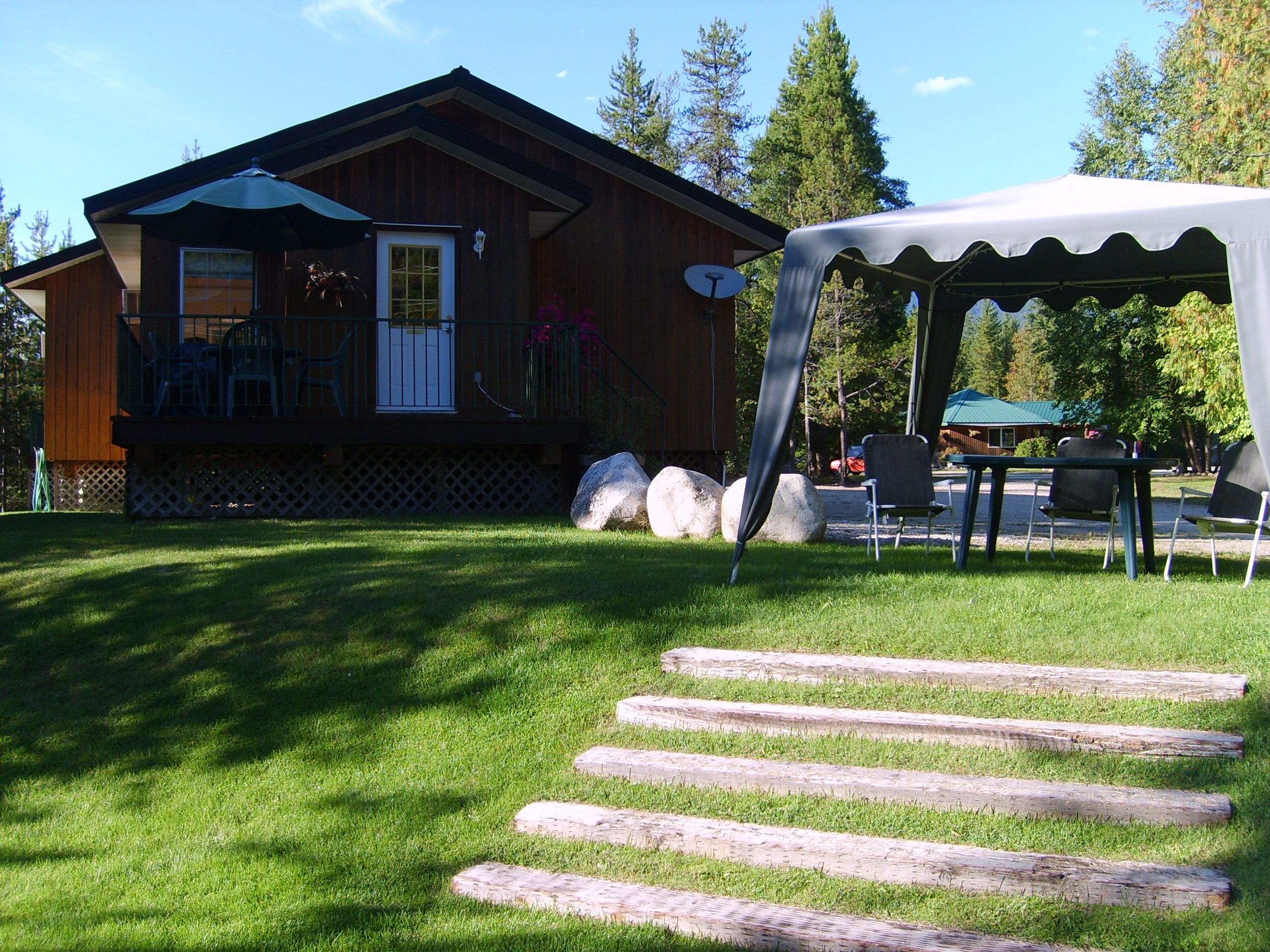 Cabin #2 lawn