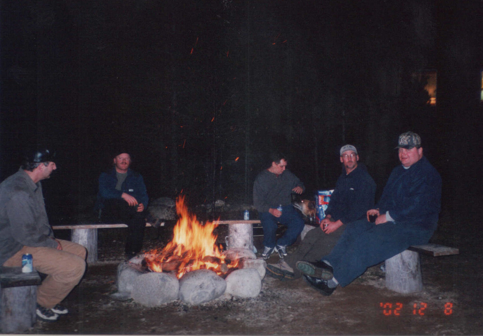 Fishing Crew, fire pit & beer.jpg
