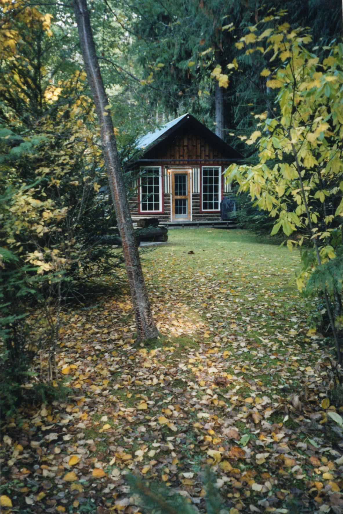 Cabin #4 in the fall