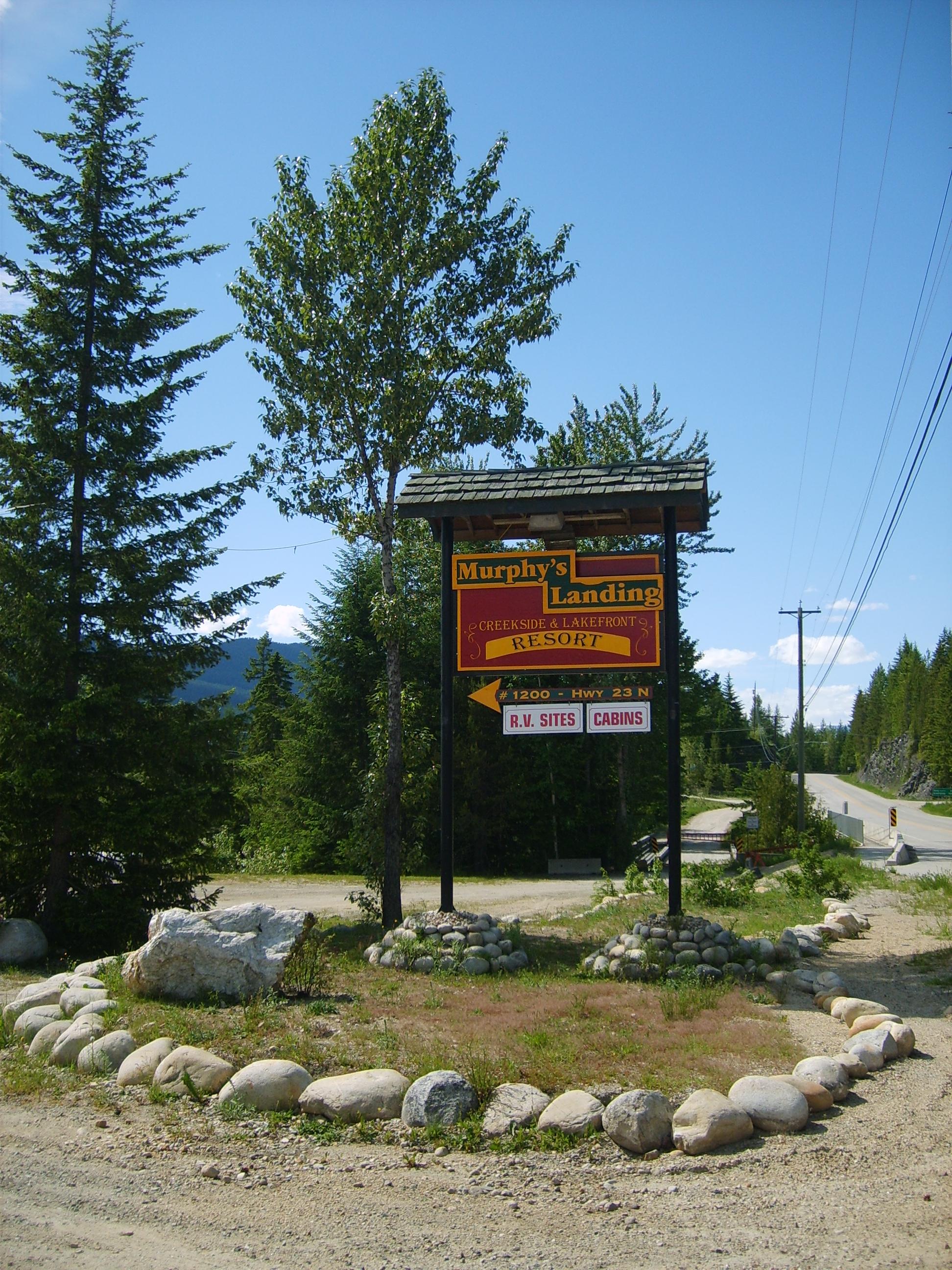 #1200 Hwy 23N Road Sign