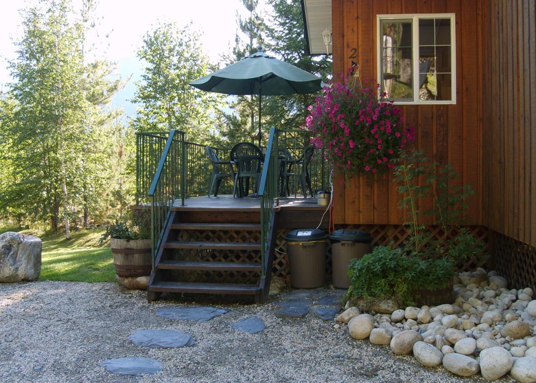 Cabin #2 entrance