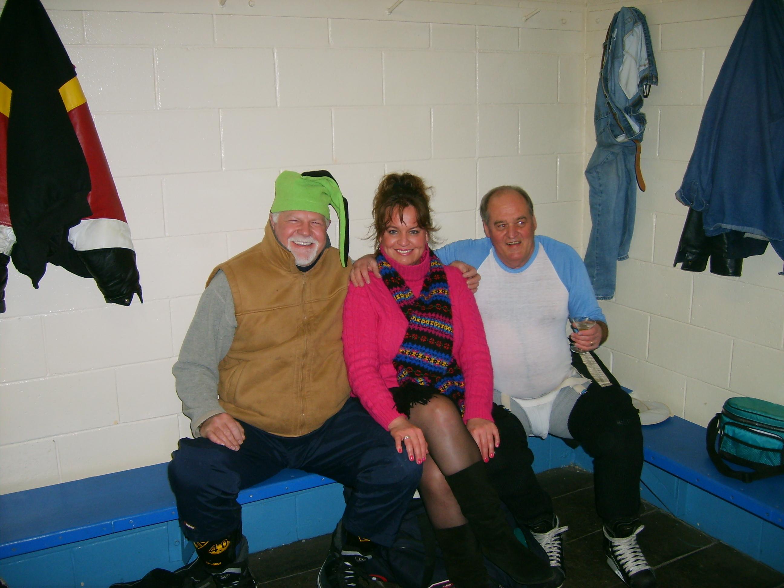 Hockey-Bob & Steve