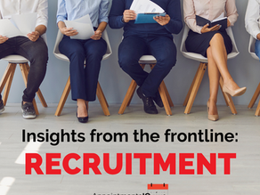 Insights from the frontline: Recruitment