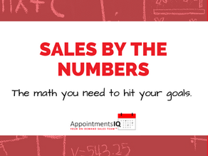 Sales By the Numbers
