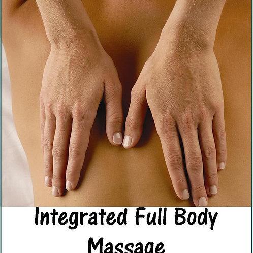 1 Hour Full Body Massage Gift Certificate