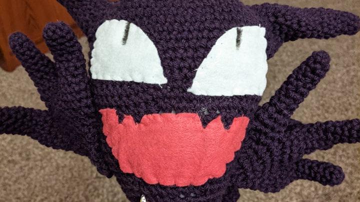 Haunter Amigurumi Crochet Pattern PDF