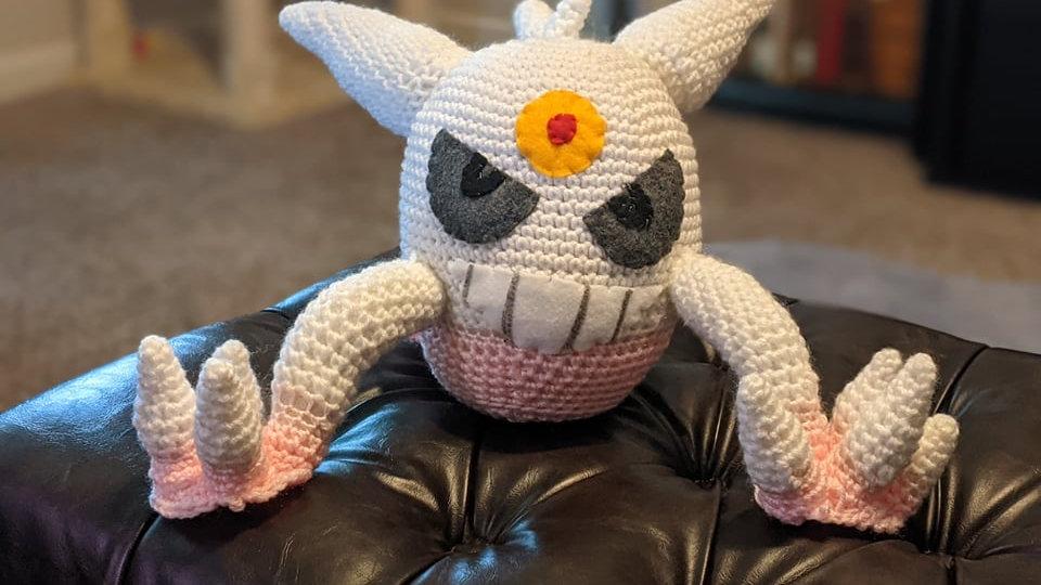 Mega Gengar Crochet Pattern