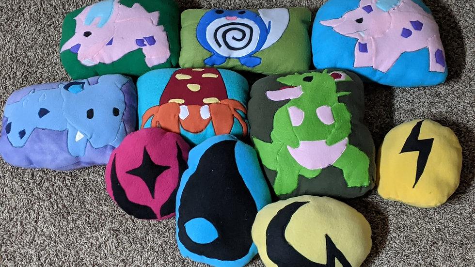 Chibi Poke Pillows