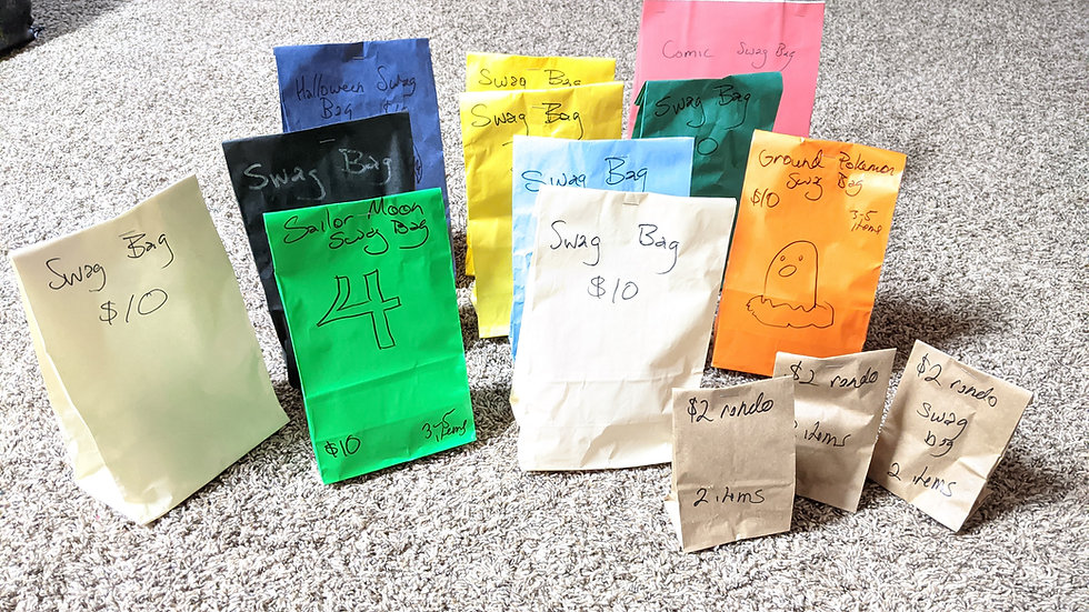 Swag bag bundle