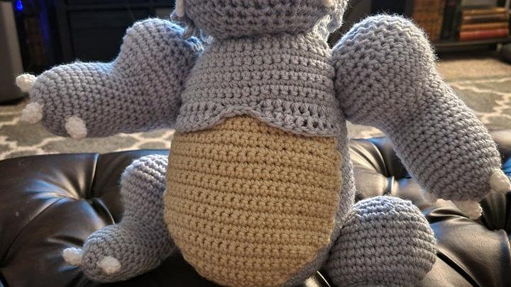 Rhydon Crochet Pattern - PDF