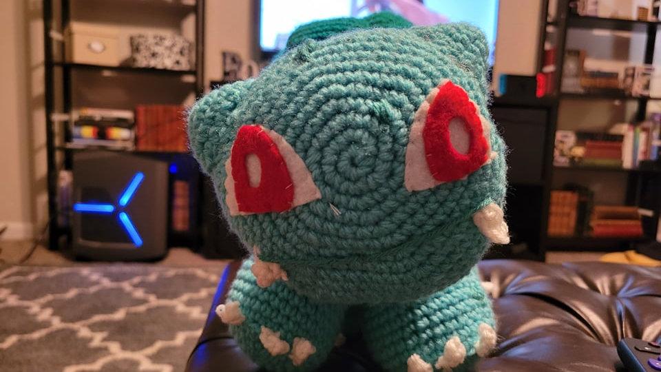 Bulbasaur Crochet Pattern - PDF