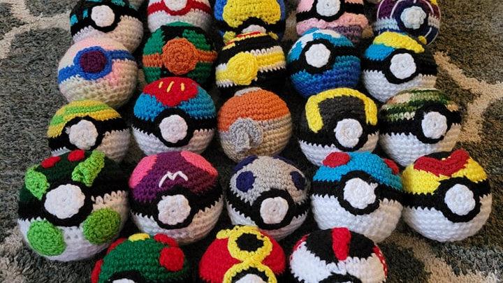 Ultimate Pokeball Crochet Patterns - PDF