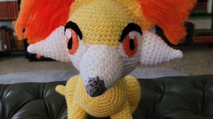 Fennekin Crochet Pattern - PDF