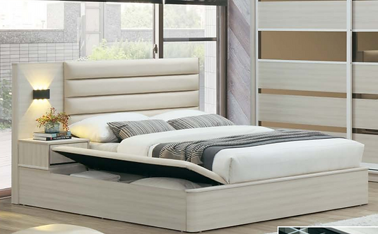 MX(1101) Queen/King Storage Bed Frame