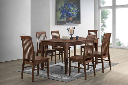 Wenges 6 Seater Dining Set