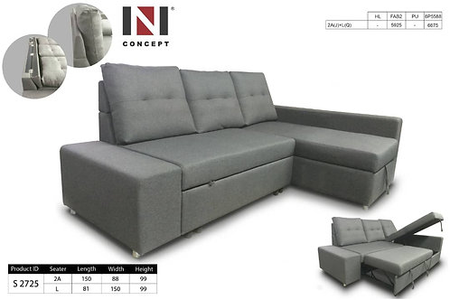 NS2725 L-Shape Sofa Bed