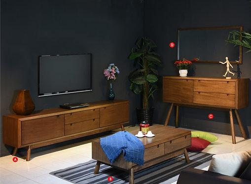 Mivo 3in1 Living Room Set