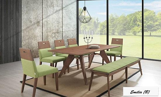 Emilia(B) 8 Seater Dining Set