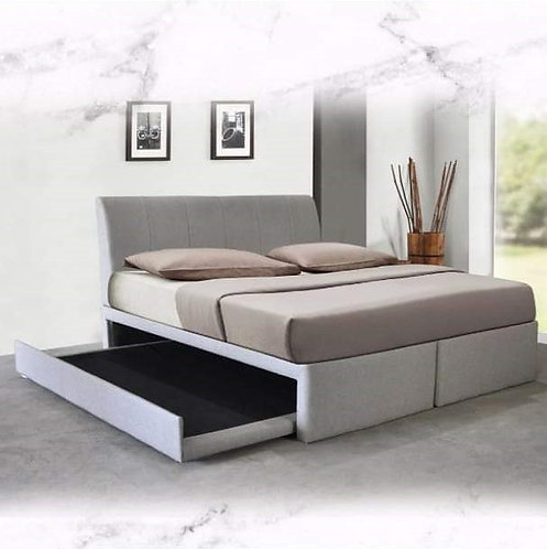 MX-NB12 Queen/King Bed Frame With Pull Out Bed